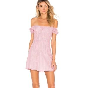 Revolve By the way. Leila off shoulder dress